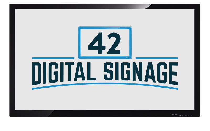 42 Digital Signage Screen
